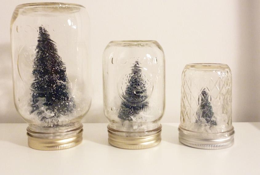 DIY Mason Jar Snow Globes – Honestyle